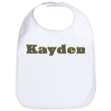 Kayden Gold Diamond Bling Bib