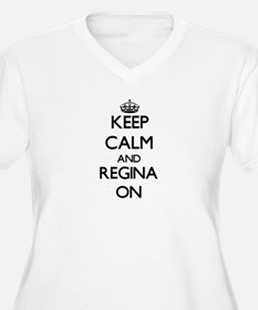 Keep Calm and Regina ON Plus Size T-Shirt