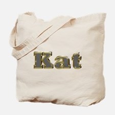 Kat Gold Diamond Bling Tote Bag