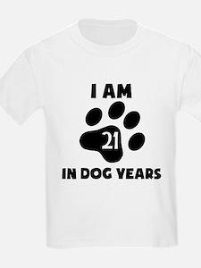 3rd Birthday Dog Years T-Shirt