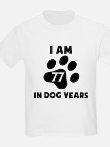 11th Birthday Dog Years T-Shirt