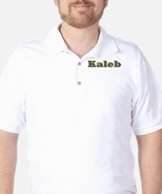 Kaleb Gold Diamond Bling T-Shirt