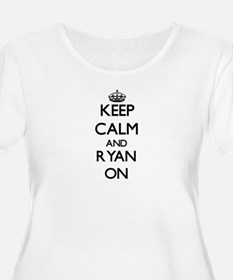 Keep Calm and Ryan ON Plus Size T-Shirt