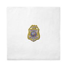 Watts Police Queen Duvet