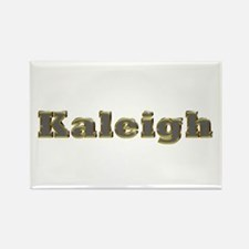 Kaleigh Gold Diamond Bling Rectangle Magnet