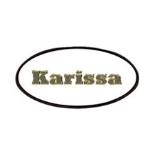 Karissa Gold Diamond Bling Patch