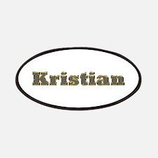 Kristian Gold Diamond Bling Patch