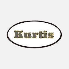 Kurtis Gold Diamond Bling Patch