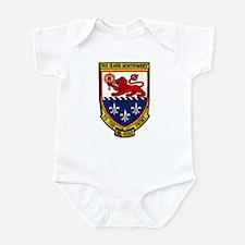 USS ELMER MONTGOMERY Infant Bodysuit