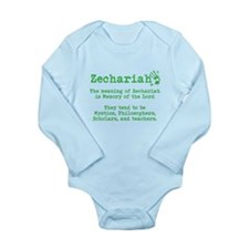 The Meaning of Zechariah Body Suit