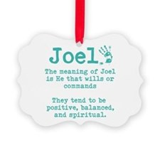 The Meaning of Joel Ornament