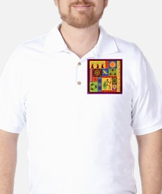 African Traditional Ornament T-Shirt