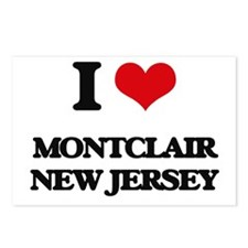 I love Montclair New Jers Postcards (Package of 8)