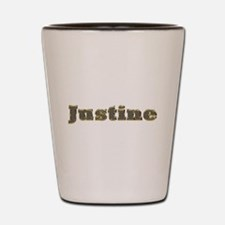 Justine Gold Diamond Bling Shot Glass
