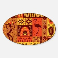 African Traditional Ornament Decal