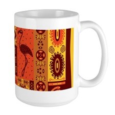 African Traditional Ornament Mugs