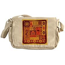 African Traditional Ornament Messenger Bag