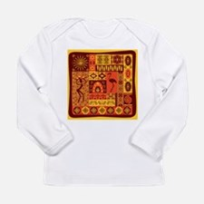 African Traditional Ornament Long Sleeve T-Shirt