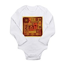 African Traditional Ornament Body Suit