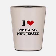 I love Netcong New Jersey Shot Glass