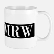 Your Initials Here Monogram Mugs