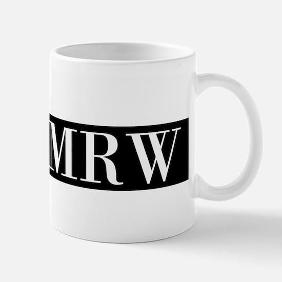 Your Initials Here Monogram Mugs