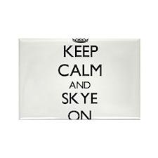 Keep Calm and Skye ON Magnets