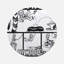 Hollywood Round Ornament