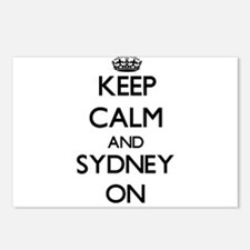 Keep Calm and Sydney ON Postcards (Package of 8)