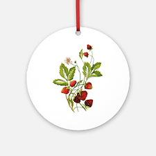 STRAWBERRIES Ornament (Round)
