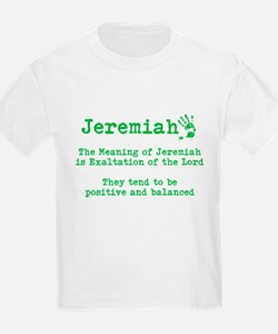 The meaning of Jeremiah T-Shirt