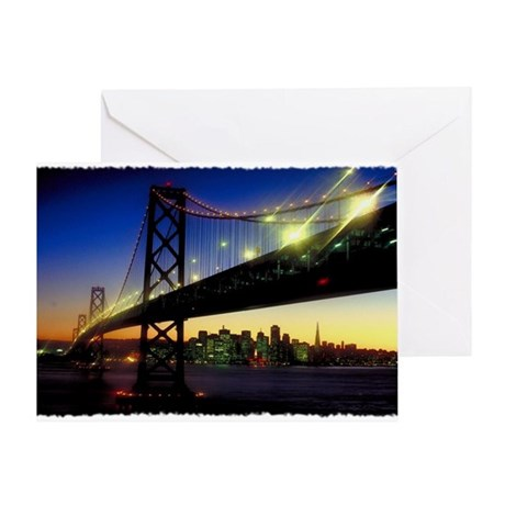 SF Darkness Greeting Card