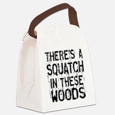 Squatch in these Woods Canvas Lunch Bag