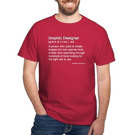 Graphic Designer Dark T-Shirt