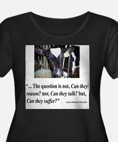 Can they suffer? Plus Size T-Shirt