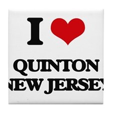 I love Quinton New Jersey Tile Coaster