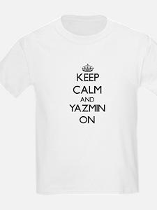 Keep Calm and Yazmin ON T-Shirt