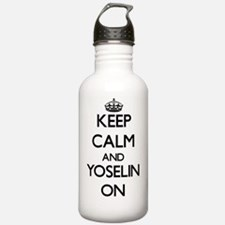 Keep Calm and Yoselin Water Bottle