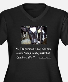 Can they suffer DARK SHIRT.png Plus Size T-Shirt