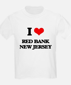 I love Red Bank New Jersey T-Shirt