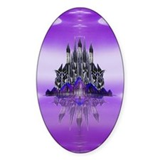 Glass Palace Oval Decal
