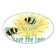 Save the Bees Decal