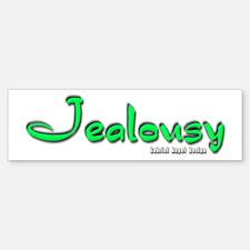Jealousy Logo Bumper Bumper Bumper Sticker