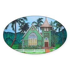 Wai'oli Hui'ia Church Stickers
