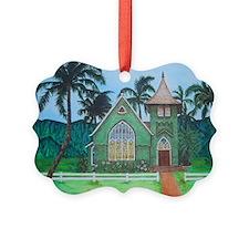 Wai'oli Hui'ia Church Picture Ornament