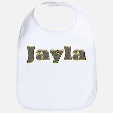 Jayla Gold Diamond Bling Bib
