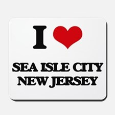 I love Sea Isle City New Jersey Mousepad