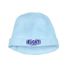 Rugby baby hat