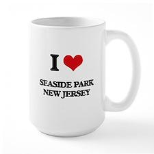 I love Seaside Park New Jersey Mugs
