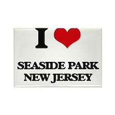 I love Seaside Park New Jersey Magnets